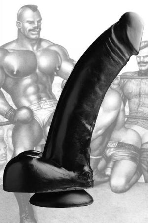 Tom Of Finland Black Magic Realistic Dildo