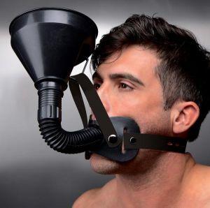 Latrine Extreme Funnel Gag Black