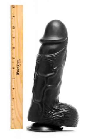 Giant Black 10.5 inches Dong
