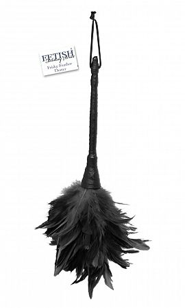Fetish Fantasy Frisky Feather Duster Black
