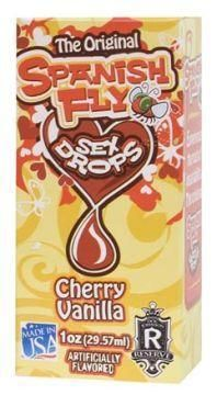 Spanish Fly Sex Drops Cherry Vanilla 1 ounce