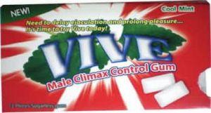 Vive Climax Control Gum 12 Pcs(Wd)