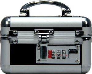 Mini Lockable Vibe Case Black