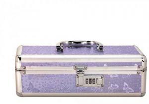 Lockable Vibrator Case Small Purple