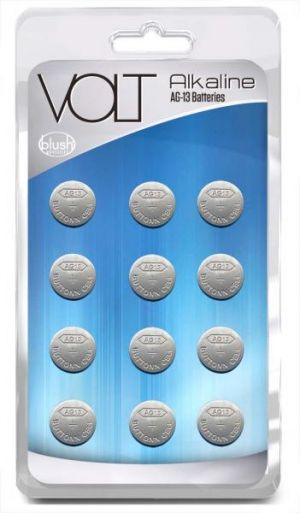 Volt Alkaline Batteries AG13 12 Pack