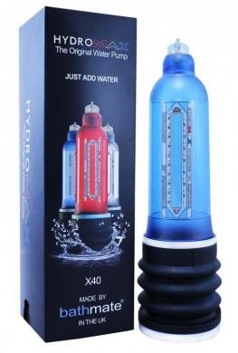 Hydromax X40 Penis Pump - Aqua Blue