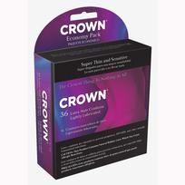 Crown Latex Condoms 36 Economy Pack