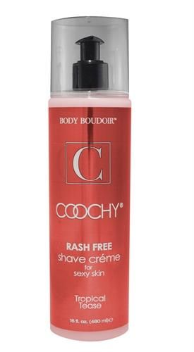 Coochy Shave Cream Tropical Tease 16oz