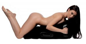 Mount Me Inflatable Sex Position Pillow Black