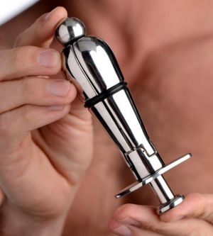 Petite Stainless Steel Ass Lock Anal Plug
