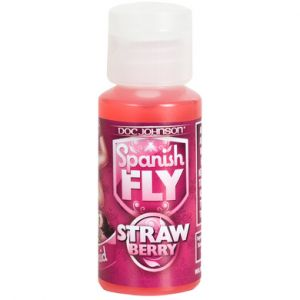Spanish Fly Sex Drops Wild Strawberry 1oz