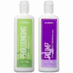 Proloonging + Plump for Men 2 Pack 1oz Bottles