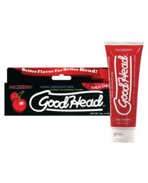 Goodhead Oral Delight Gel Wild Cherry 4oz
