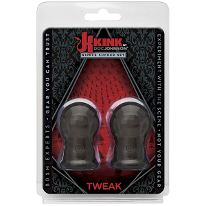 Kink Tweak Nipple Sucker Set Black