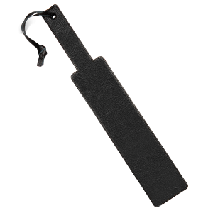 Kink Welt Punishment Paddle Black Red