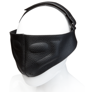 Kink Leather Blinding Mask Black O/S