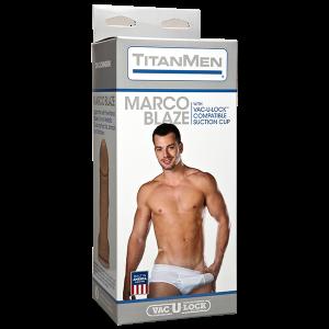 Titanmen Marco Blaze Realistic Dildo 8.5 Inch