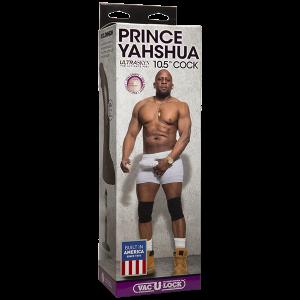 10.5 inches Prince Yahshua Ultra Skyns Chocolate Dildo