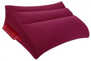 Inflatable Position Pillow Burgundy
