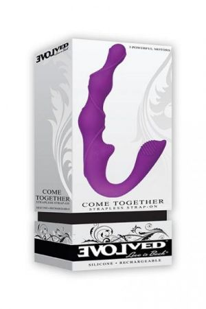 Come Together Couples Vibrator Purple