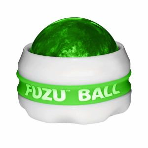 Fuzu Ball Massager Neon Green