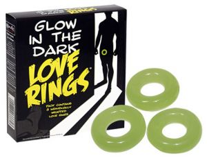 Glow In The Dark Love Ring