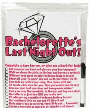 Bachelorette T-Shirt W/Pen