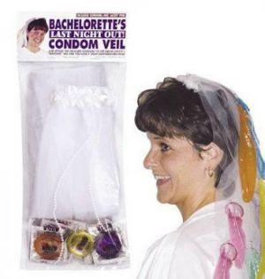 Bachelorette Condom Veil