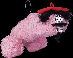 Bachelorette Willy Whack It Piñata