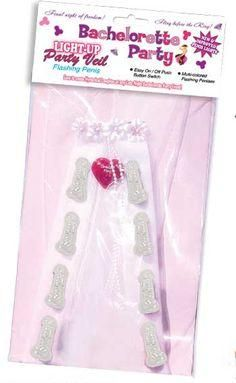 Bachelorette Party Light Up Veil
