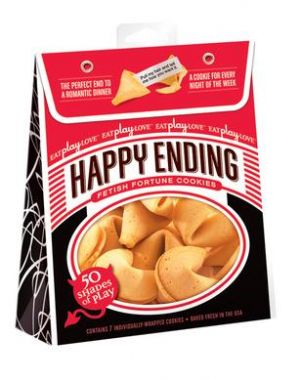 Happy Ending Fortune Cookies, 50 Shades of Play Edition