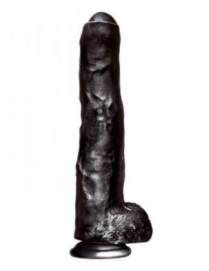 Big Black Cock Uncut Realistic Dildo
