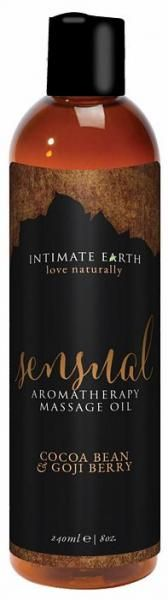 Intimate Earth Sensual Massage Oil 8oz