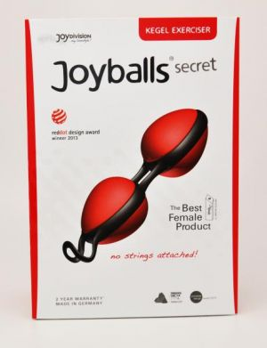 Joyballs Secret Red/Black Kegel Exerciser