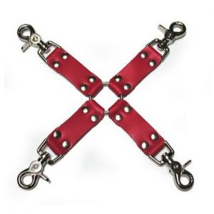 Hog Tie Leather Red