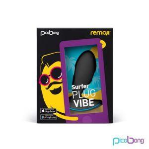 Remoji Surfer Plug Vibe Black App Controlled