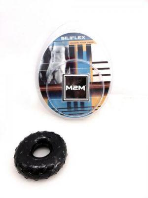 M2M Cock Ring Sili Flex Mega Black