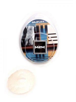 M2M Cock Ring Sili Flex Mega Clear