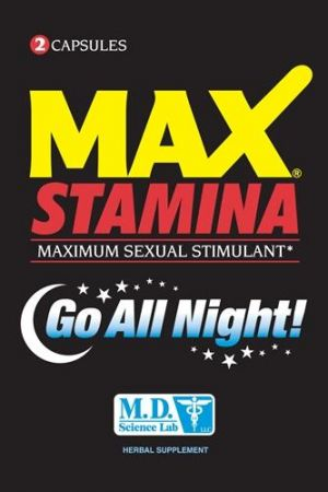 Max Stamina Male Sexual Enhancement 12 Count