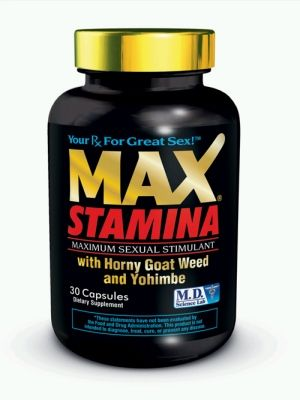 Max Stamina 30 Pc Bottle