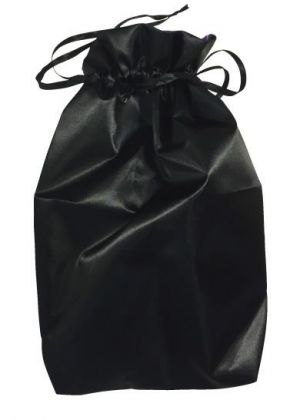Ultimate Toy Pouch Black Drawstring Storage