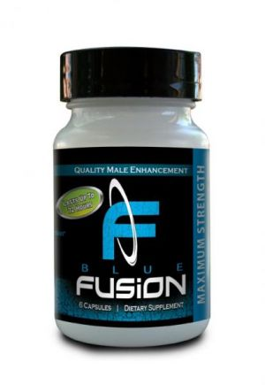Blue Fusion For Men 6 Capsules Bottle