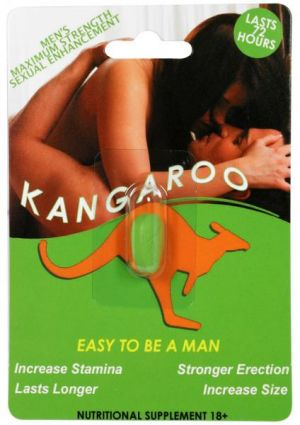 Kangaroo For Him 30 Count Single Dose Display
