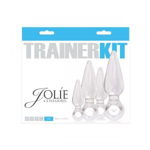 Jolie Trainer Kit Anal Plugs 4 Pieces Clear