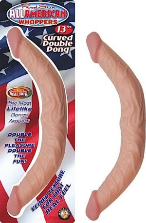 All American Whopper Curved Double Dong
