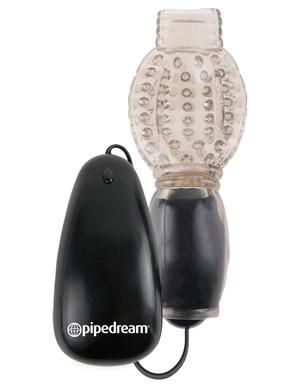 Fetish Fantasy Vibrating Head Teaser Black