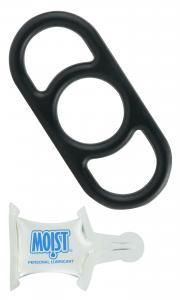Quick Release Cock Ring Black