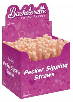 Pecker Straws (144 pc)  in display box