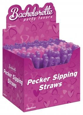 Dicky Sipping Straws 144 Pcs Assorted Colors