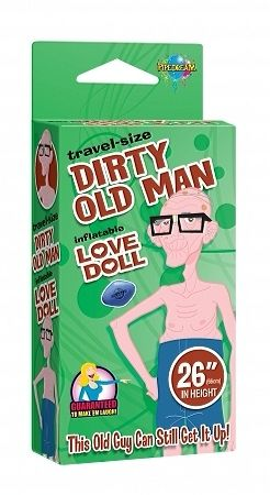 Travel Size Dirty Old Man Love Doll